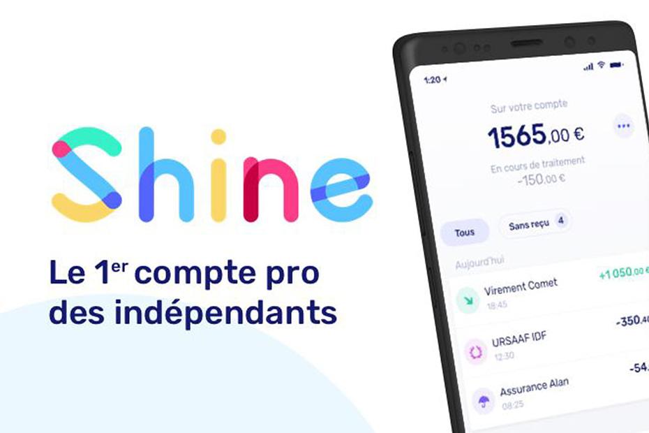 shine banque en ligne pour freelance