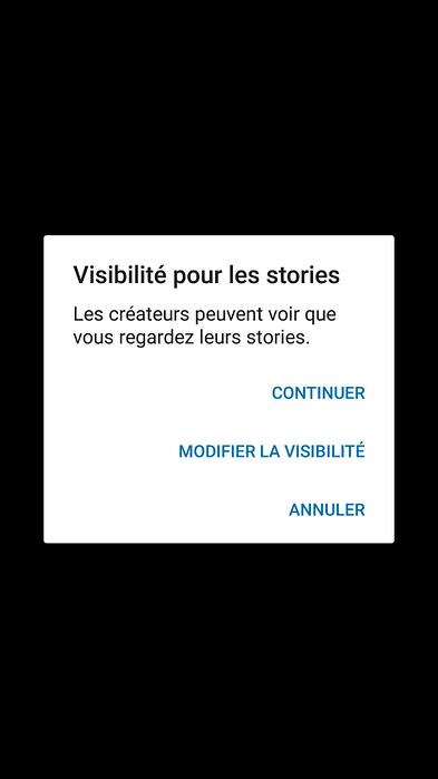 Visibilité stories LinkedIn